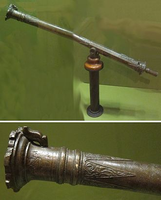 Lantaka - Moro cannon or swivel gun (lantaka) from the Sulu Archipelago, brass, Honolulu Museum of Art