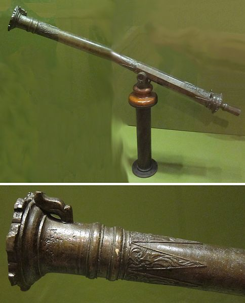 File:Moro cannon or swivel gun (lantaka) from the Sulu Archipelago, brass, Honolulu Museum of Art.jpg