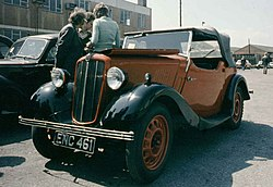 Morris Eight Series II Tourenwagen 2 Türen (1938)