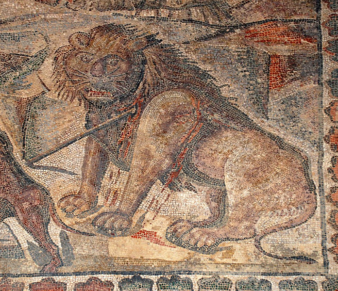 Archivo:Mosaicos Romano Villa Romana La Olmeda 010 PedrosaDeLaVega (Palencia).jpg