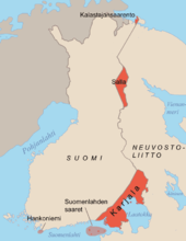 Suomi 1940 kartta