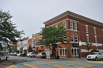 Mount Pleasant, Michigan - Mount Pleasant Downtown Historic District