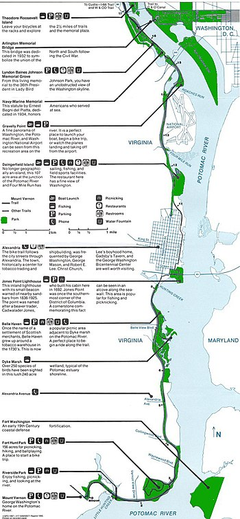 Mount Vernon Trail - Wikipedia on