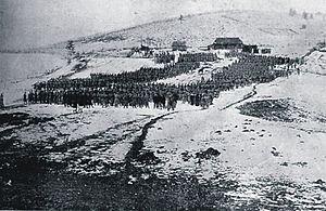 Battle of Rafajlowa - Image: Msza polowa w Rafajłowej