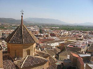 Mula, Spain - Image: Mula cityscape