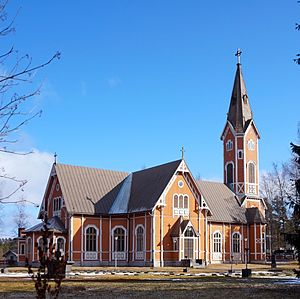 Multia, Finland - Multia Church