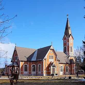 Multia, Finland - Multia Church