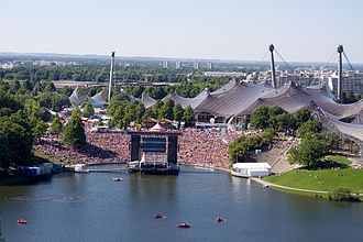 Olympiapark (Munich) - Public Viewing during Fifa World Cup 2006