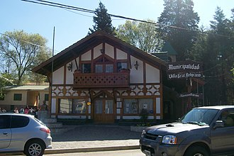 Villa General Belgrano - Town-Hall building, of the Municipality of Villa General Belgrano