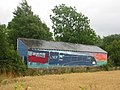 Mural of LNER No. 4468 A4 class locomotive Mallard - geograph.org.uk - 211985.jpg