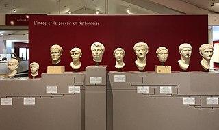 Portraits impériaux de Béziers