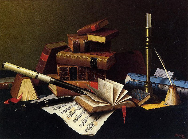 File:Music and Literature William Michael Harnett.jpeg