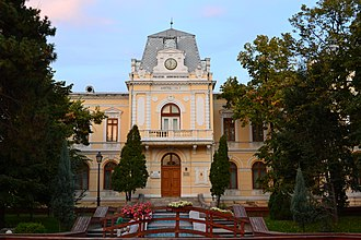 Olt County - .The Olt County Prefecture's building from the interwar period, currently the Olt County Museum.