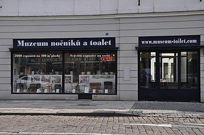 How to get to Muzeum Historických Nočníků A Toalet with public transit - About the place