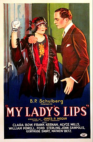 My Lady's Lips - Image: My Lady's Lips theatrical poster
