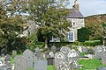 Mynwent a Rheithordy - Churchyard and Rectory - geograph.org.uk - 568297.jpg