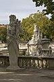 Nîmes-Jardin de La Fontaine-Hadès-20101001.jpg