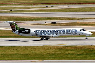Frontier Airlines - Frontier Express Embraer ERJ-145 operated by Chautauqua