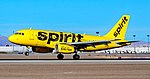 N535NK Spirit Airlines Airbus A319-133 s-n 4403 (39659232852).jpg