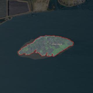 Chain Island Island in California