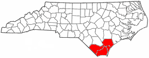 Cape Fear (region) - Counties included in the Cape Fear Council of Governments.