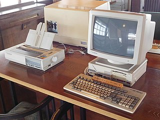 PC-9800 series series of Japanese personal computers