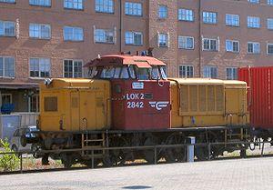 NSB Di 2 - Di 2 842 at Oslo Central Station