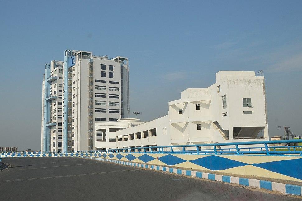 Nabanna - HRBC Building with Multistorey Car Park - Sibpur - Howrah 2015-03-09 6834