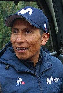 Nairo Quintana Colombian road bicyclist
