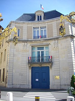 Prefecture]building of the Meurthe-et-Moselle department, in Nancy