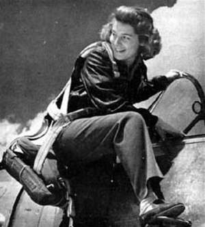 Nancy Batson Crews - Image: Nancy E. Batson, WAFS pilot