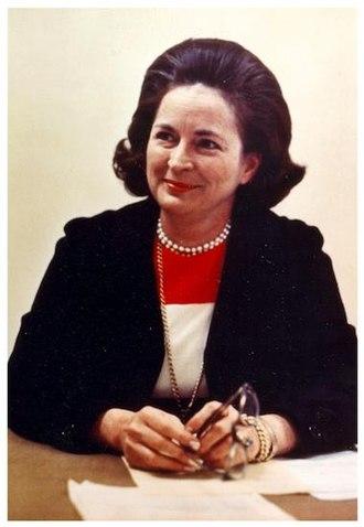 Nancy Hanks (art historian) - Nancy Hanks, Chair of the National Endowment for the Arts (1969-77)