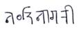 Nandinagari in Nandinagari script (example).png