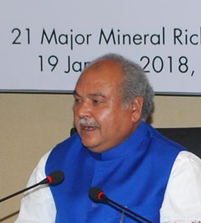 Narendra Singh Tomar Indian politician
