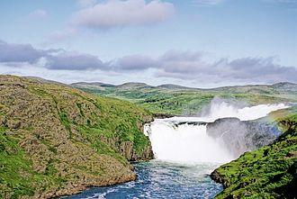 Nastapoka River - Falls on Nastapoka River