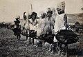 Natal, South Africa; African chiefs at a Zulu wedding at Hen Wellcome V0037999.jpg