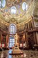 Nationalbibliothek, Prunksaaltrakt und Josefsplatz..jpg
