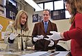 Nationals execs tour National Museum of the US Navy 131216-N-WE887-001.jpg