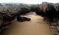 Natural arch (water eroded) at Thotlakonda beach 04.JPG
