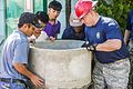 Navy Seabees and Air Force engineers renovate children's center during Pacific Partnership 2015 150824-M-GO800-083.jpg