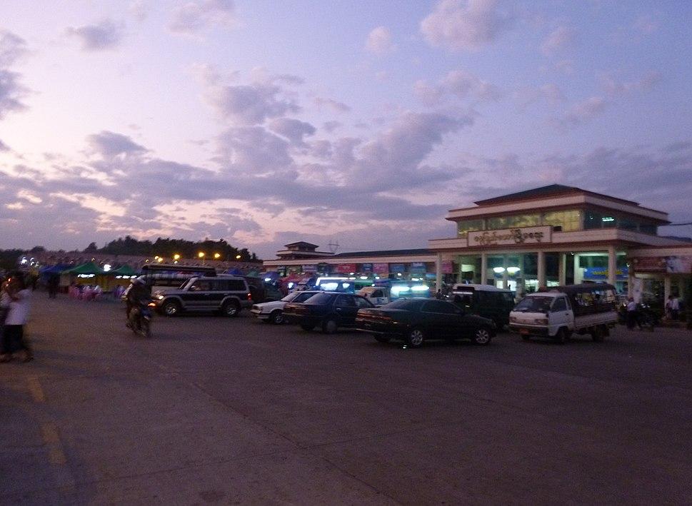 Naypyidaw -- Myoma Market