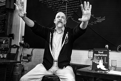 Picture of an author: Neal Stephenson