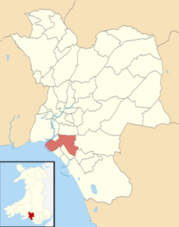 Baglan (electoral ward) Human settlement in Wales