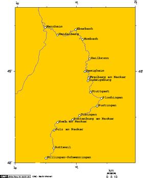 Neckarradweg Karte.Neckartal Radweg Wikipedia