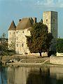 Nemours - Château vers le Loing.JPG