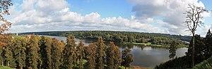 Birštonas - Image: Nemuno kilpa ties Birštonu