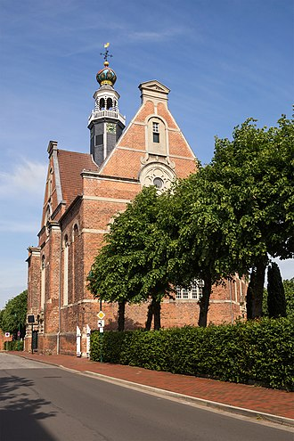 Emden - The New Church in Emden (1648).