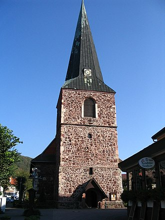 Neustadt/Harz - Image: Neustadt St.Georg Kirche
