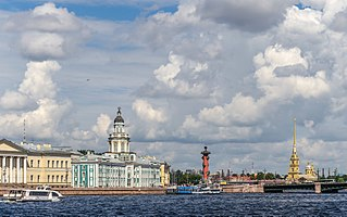 island in St. Petersburg, Russia