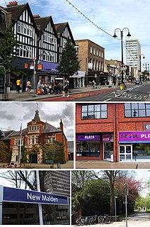 New Malden Suburb of London